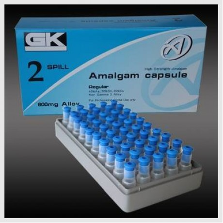 Gk Amalgam Capsules Of Dental Material