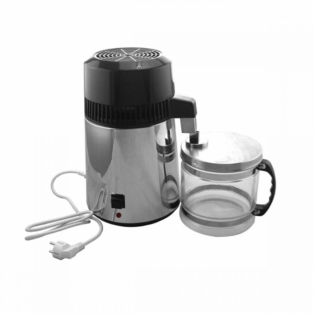 High Efficency Dental Device Sterilize Equipments Home Use Water Distiller With Aluminum Fan
