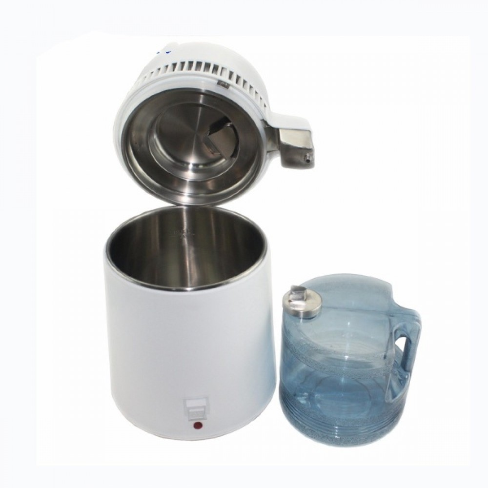 Hot Sale Dental Machine Durable Electric Stainless Steel Dental Water Distiller With Glass Water Bucket